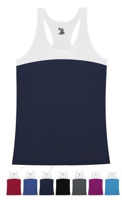 Racerback Tanks by Badger - Double Back -CLOSEOUT