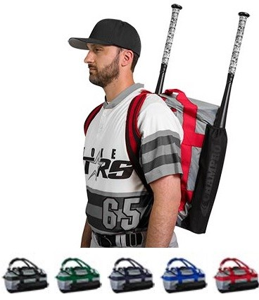 Bat Backpack by Champro - Duffle Base Knock