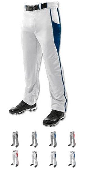 Baseball Pants by Champro - 14 oz. Triple Crown OB2  (open bottom)