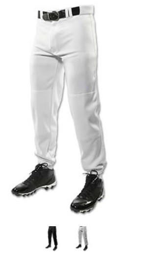 Baseball Pants by Champro - 14 oz. Triple Crown Classic  (elastic cuff)