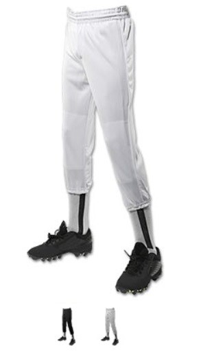 Baseball/Softball Pants by Champro - Rookie Value Youth Pull-Up
