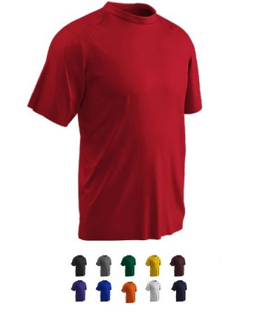 Short Sleeve T-Shirts by Champro - Leader