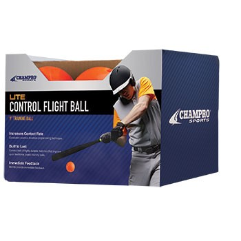 "9"" Lite Control Flight Balls by Champro (Package of 12)"