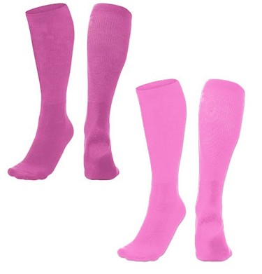 Pink Tube Socks by Champro