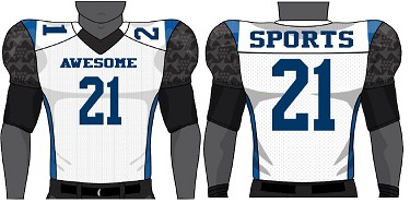 Champro Juice Custom Sublimated Football Jerseys (Laser)