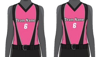 Custom Modified Racerback Jersey Sublimated  by Champro Women/Girls' -  (Typhoon)