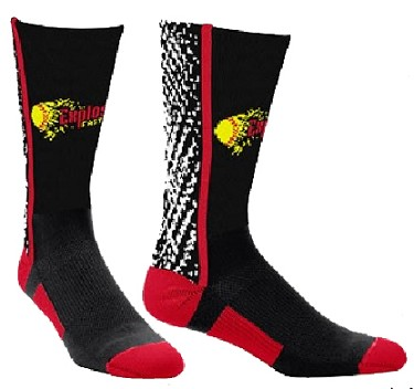 Custom Crew Socks with Logo by Twin City - Static