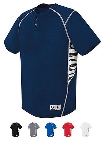 High Five Bandit Inset Two Button Jersey-CLOSEOUT