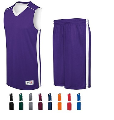 Reversible Basketball Uniforms Jersey and Short by High Five - Competition Adult, Youth, Ladies
