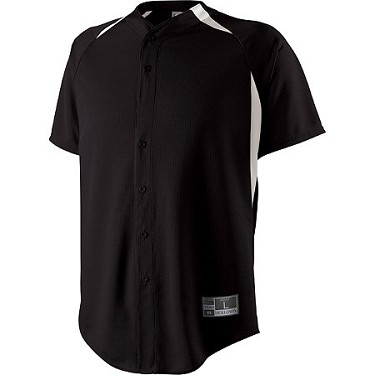 Holloway Octane Full Button Down Baseball Jersey Closeout