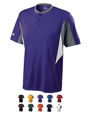 Holloway Rocket Two Button Jersey-CLOSEOUT