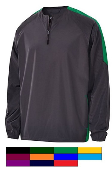 Holloway Bionic Quarter Zip Long Sleeve Pullover Closeout
