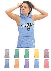 Racerback Tanks by Holloway Advocate Ladies Hooded