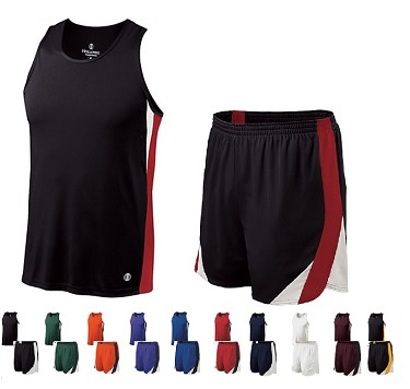 Track Singlet and Shorts with liner by Holloway - Approach