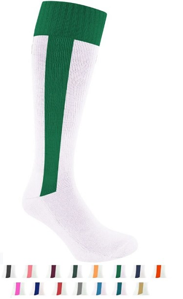 Baseball Stirrup Socks from Pearsox - All In One