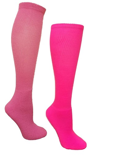 Pink Tube Socks by Pearsox - Allsport