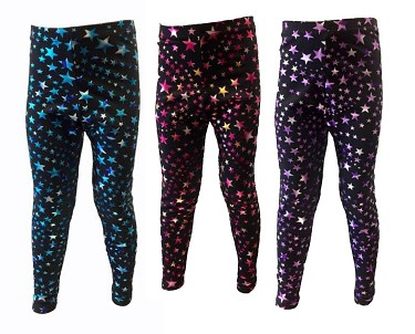 Leggings by Pizzazz Super Star