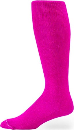 Pink Knee High Tube Socks by Profeet