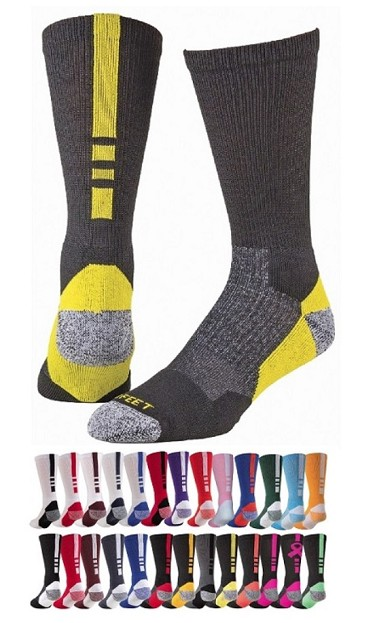 Athletic Crew Socks by Profeet - Shooter