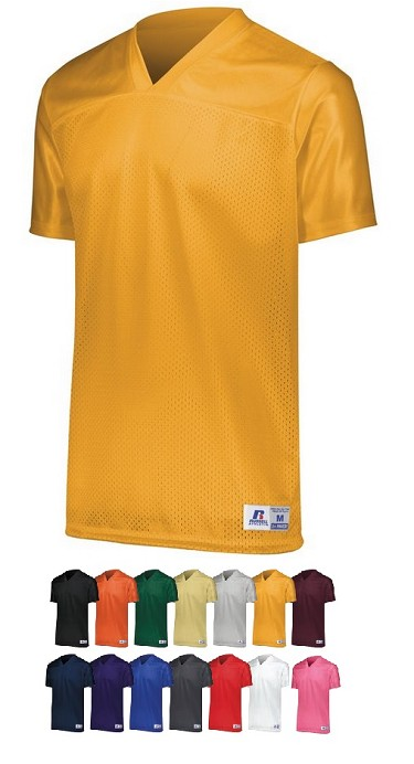 Replica Football Jersey by Russell - Solid Color