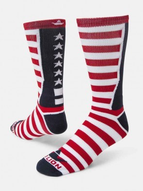USA Flag Crew Socks by Red Lion - Team USA Stars and Stripes