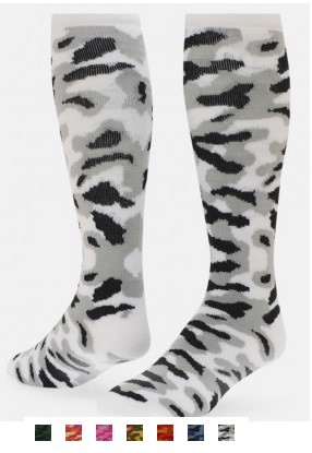 Red Lion Camouflage Knee High Socks