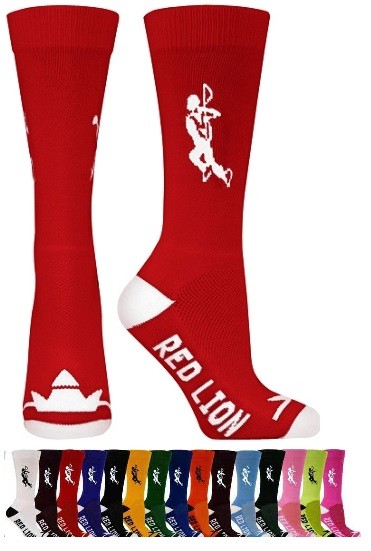 Lax Solid Crew Socks by Red Lion