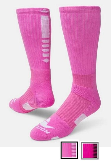 Legend Pink 2.0 Crew Socks by Red Lion