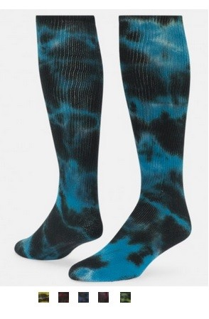 Tie Dye Knee High Socks by Red Lion Eclipse