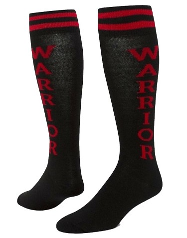 Knee High Socks by Red Lion Urban Word - WARRIOR