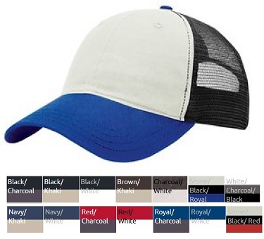 Trucker Cap by Richardson - Garment Washed 111