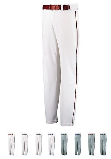 Baseball Pants Piped by Russell - Open Bottom Closeout