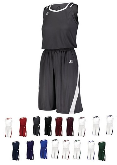Basketball Uniforms by Russell - Athletic Cut Men, Youth, Ladies