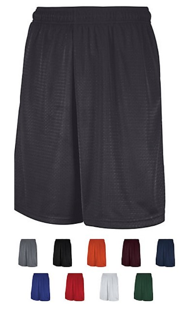 Russell Dri-Power Mesh Shorts with Pockets