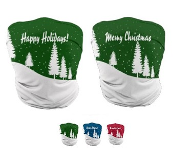 Custom Holiday Gaiter Face Masks by ProSphere (Solstice)