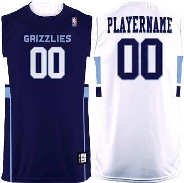 Flash Custom Sleeveless MBA Men/Boy's Tee (Memphis Grizzlies)