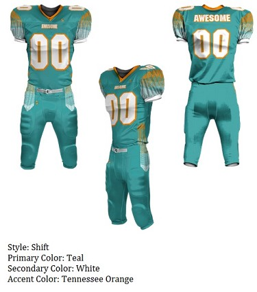 Teamwork Custom Football Uniforms  (Shift)