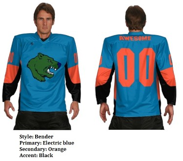 Teamwork Custom Hockey Jerseys (Bender)