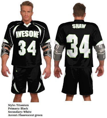 Teamwork Custom Lacrosse Uniforms (Titanium)