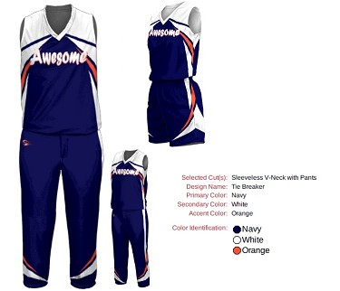 Custom Softball Uniforms by Prosphere Sublimated (Tie Breaker)