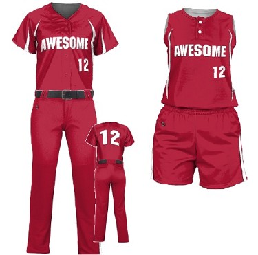 Custom Softball Uniforms by Prosphere Sublimated (Warrior)