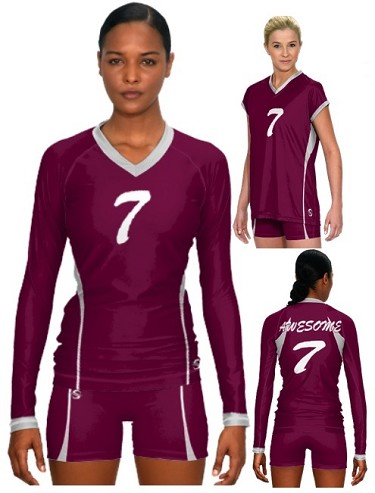 Teamwork Sublaminated Custom Volleyball Uniforms (Dig)