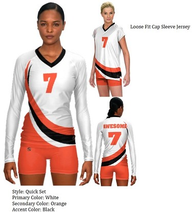 Teamwork Sublaminated Custom Volleyball Uniforms (Quick Set)