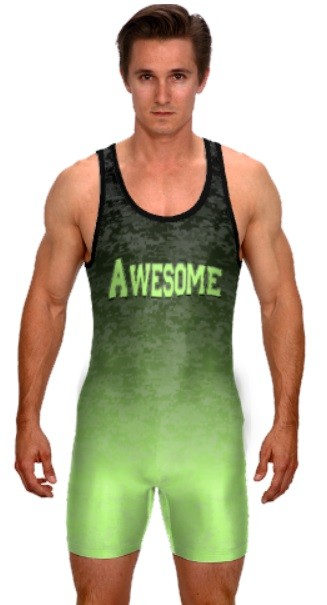 Teamwork Custom Wrestling Singlet (Counter Attack)