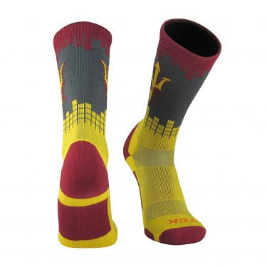 Officially Licensed Twin City Collegiate Socks (Arizona State University)