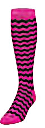 Pink Chevron Krazisox by Twin City