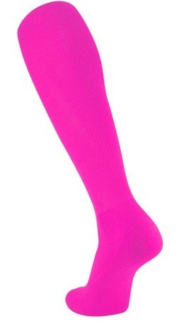 Pink Knee High Tube Socks by Twin City
