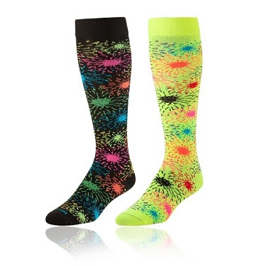 Fireworks Knee High Socks by Twin City